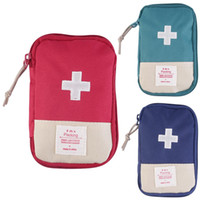 New Outdoor Camping Home Survival Portable First Aid Kit bag...