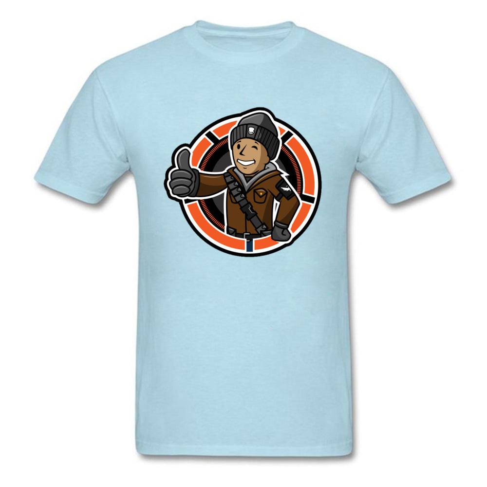 Casual Division Boy T Shirt On Sale Autumn Short Sleeve Crewneck Tops Shirt Cotton Men\`s Simple Style Clothing Shirt Division Boy light