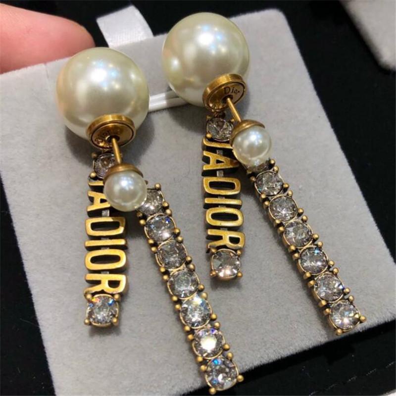 Naturelle d/'Eau Douce Perle Blanche Plaqué Argent Fashion Boucle d/'oreille créole Pour Filles Bijoux