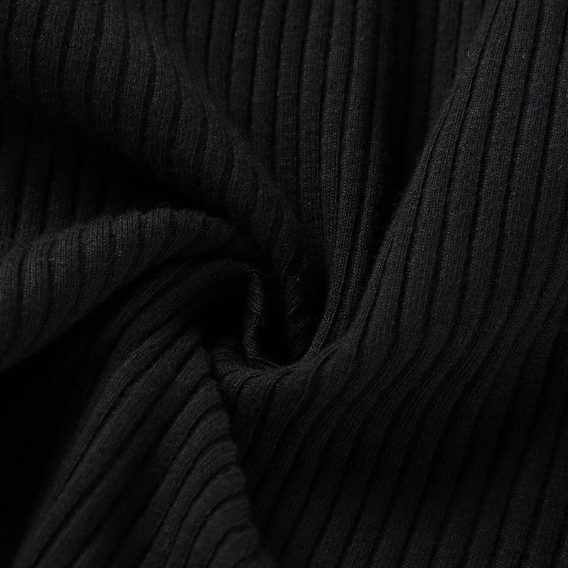14Sweetown Vogue Off The Shoulder Long Sleeve Crop Tops T Shirt For Women Sexy Korean Style Summer Autumn Black Harajuku Tshirt