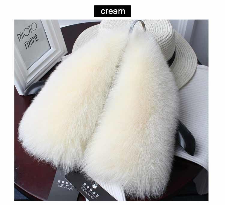 fox fur collar cream 1
