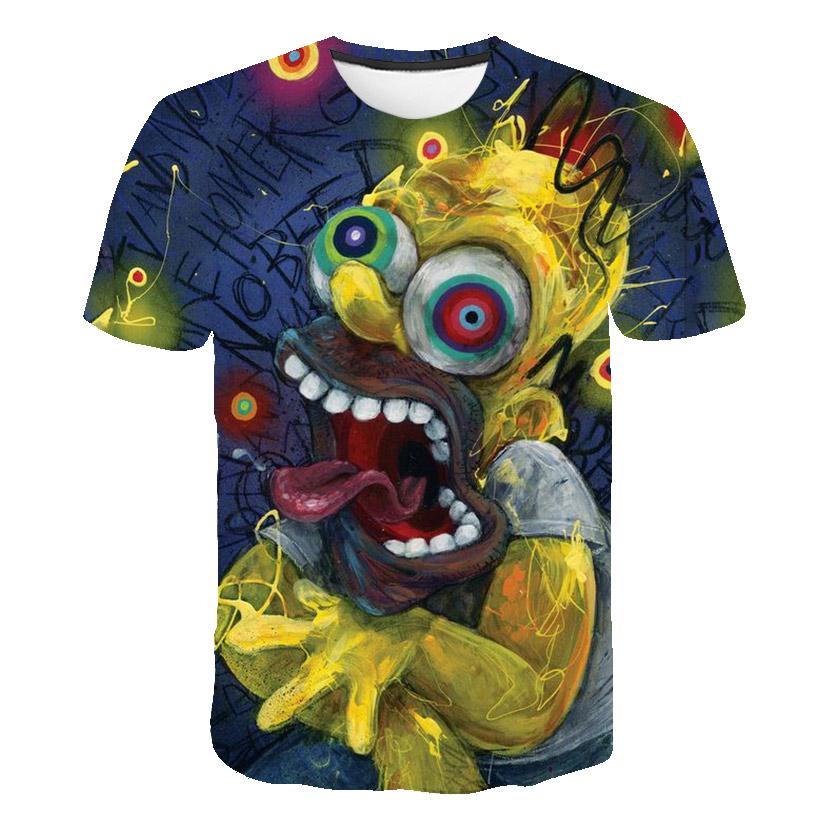 halloween zombie walking dead Style unisext T shirt Sang éclaboussures