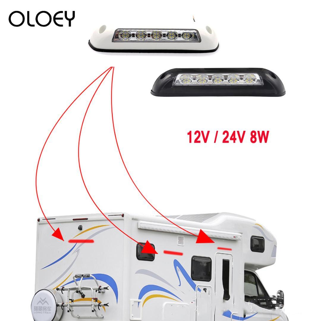 1x 280LM RV Interior Led Ceiling Light Boat Camper Trailer Single Dome12v Dimmer