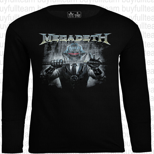 Megadeth Atomic Blast Vic Image Black T Shirt New Official All Sizes
