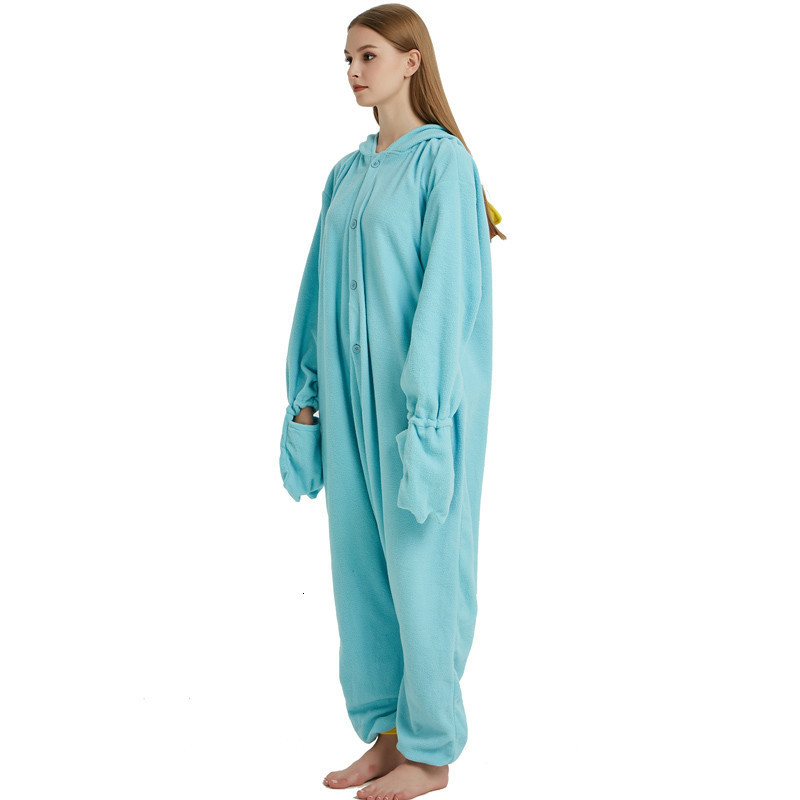 Unisex Perry the Platypus Costumes Onesies Monster Cosplay Pajamas Adult Pyjamas Animal Sleepwear Jumpsuit (2)