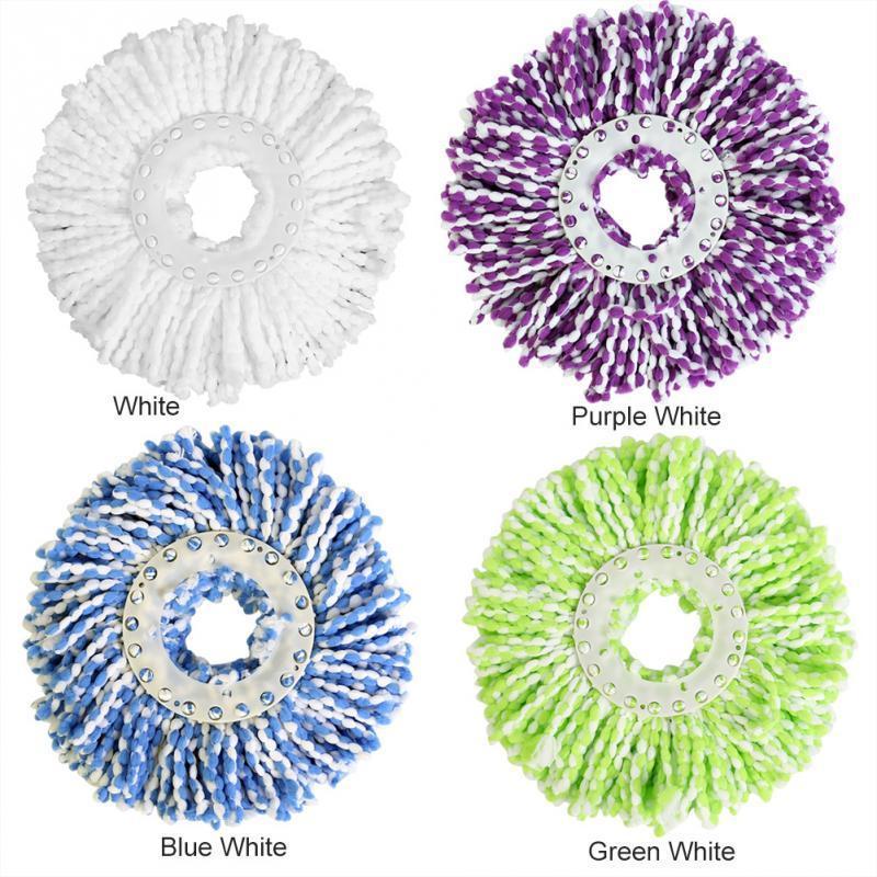 360 drehbarer Kopf auswechselbare magische einfache Spinning Floor Spin Zubehör Haushaltsreiniger Mop C19041701