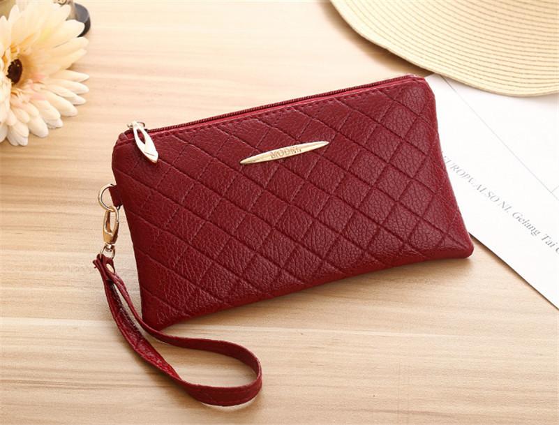 x10-fashion wallets women long design wallet purse