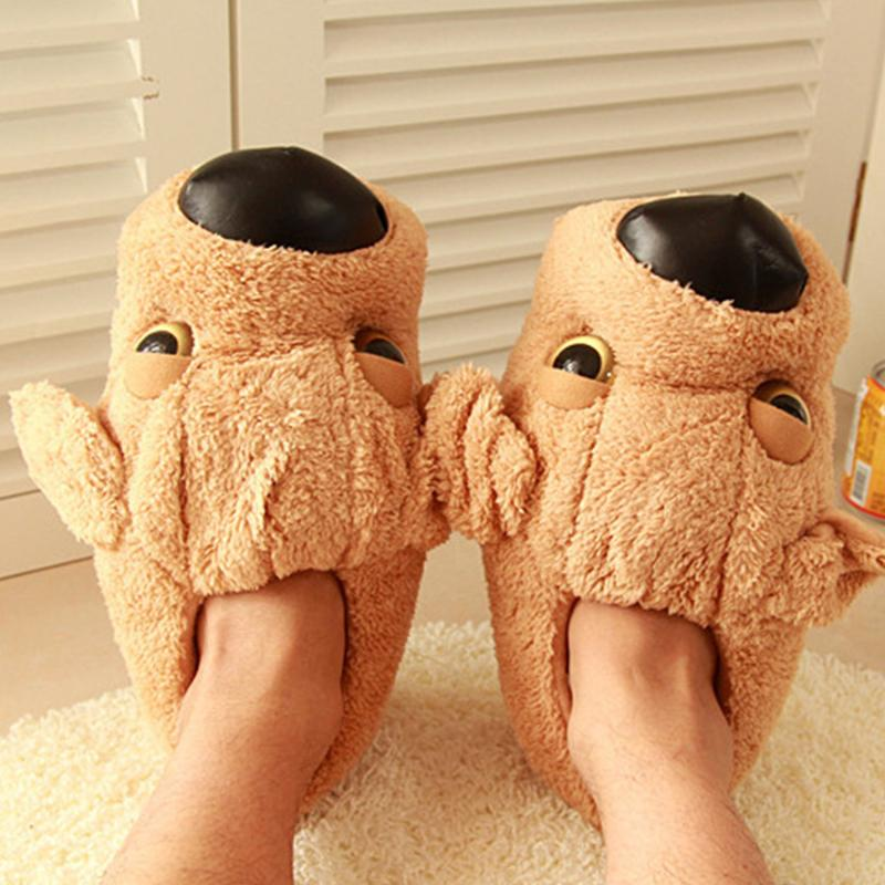 Anime Game Kirby Plush Half Slipper Shoes Soft Warm Indoor new Slippers