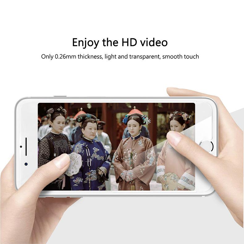 KINGXBAR for iPhone Xs Max Glass Full Protection for iPhone Xs Tempered Glass Screen Protector for iPhone Xs Max Protector Film (7)