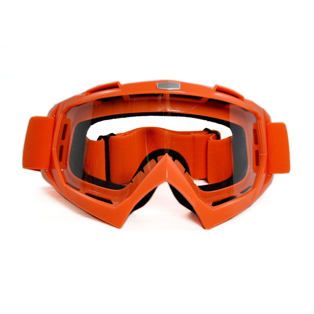 Motorcycle Goggles Motocross Eyes Bike motochka Cross Point Country Flexible Sport Racing Goggle Clear Lens Moto Glasses For KTM