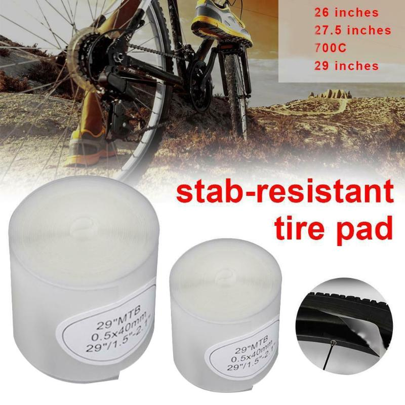 UK Bicycle Tire Liner Puncture Proof Belt Protection Pad  700C Road Bike MTB X2