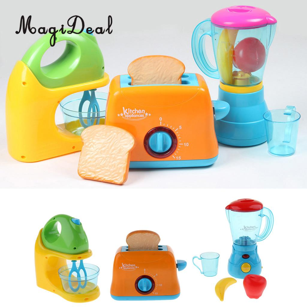 2019 Simulation Electronic Home Appliance Kids Pretend Role Play Kitchen  Toy Blender Juicer Bread Maker From Toyguiyang, $42.28 | DHgate.Com
