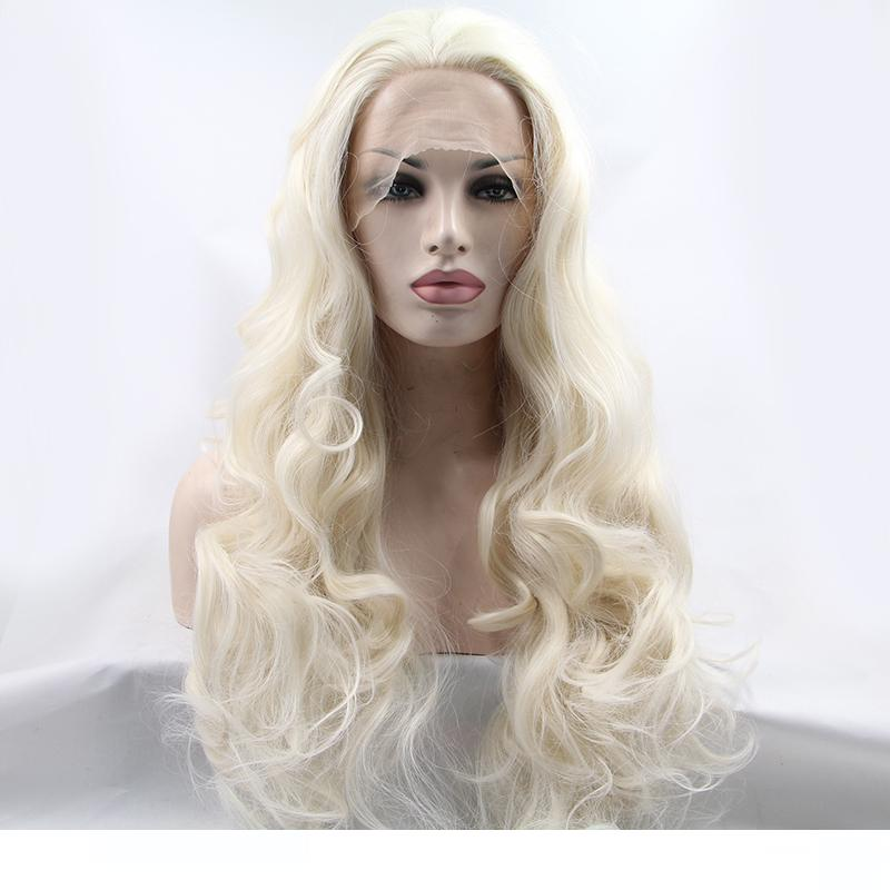 Latex Hood with Blond Ponytail Wigs Pigtail Beautiful Girl Headgear Rubber Mask