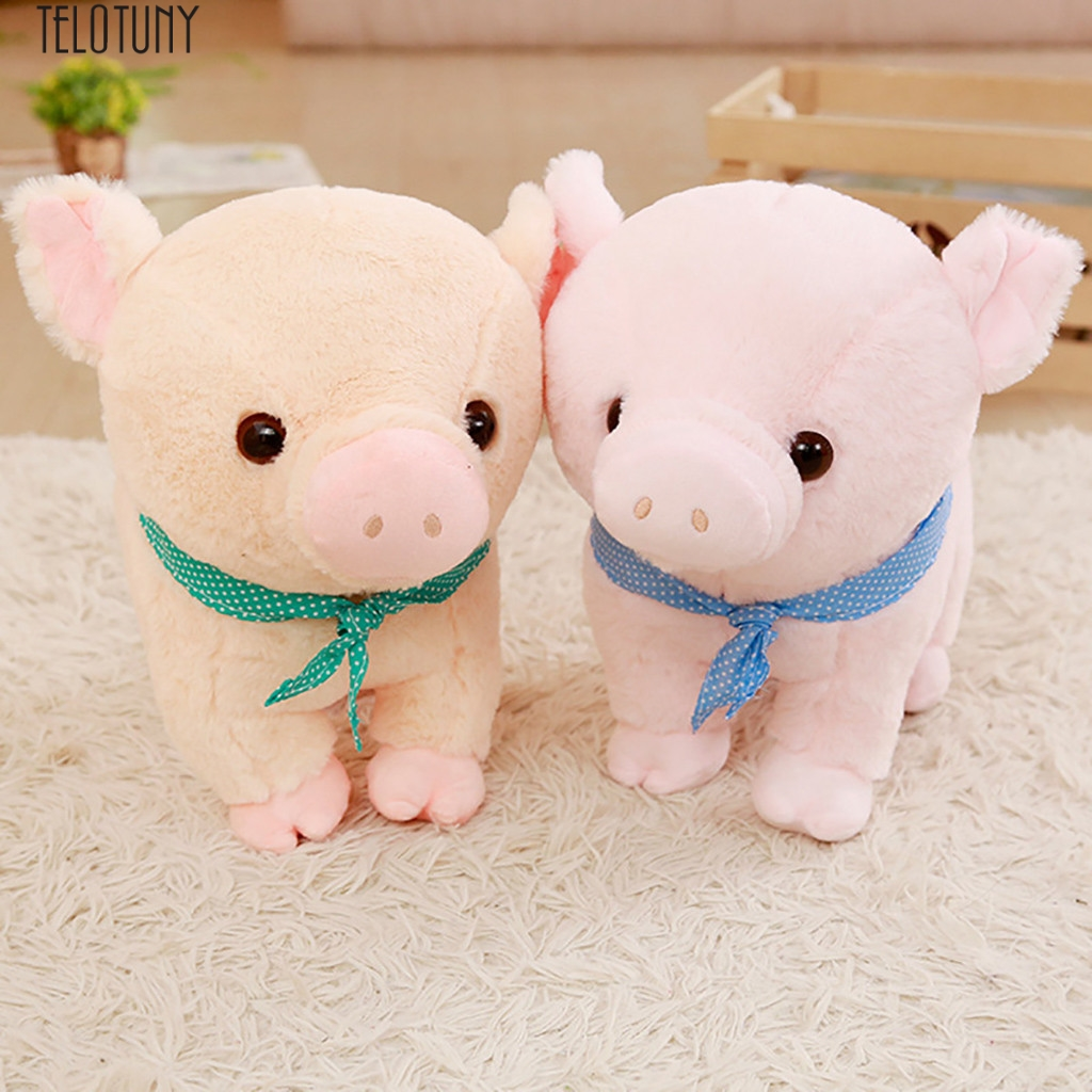 TELOTUNY plush stuffed animal doll plush baby toys Giant Stuffed Animal Stuffed Animals Pig Plush Toys Pillow 12 Inch Z0109