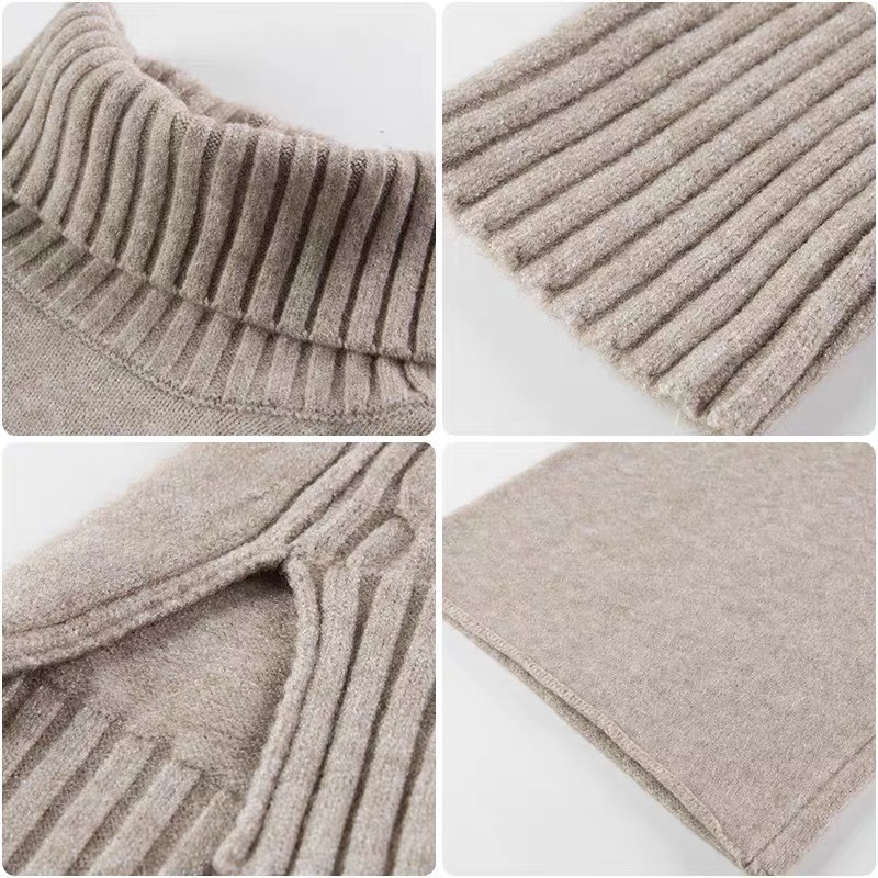 Sweater-Set-Women-Winter-Knitted-Suits-2-Piece-Set-Soild-Turtleneck-Sweater-Loose-Trousers-Office-Lady(5)