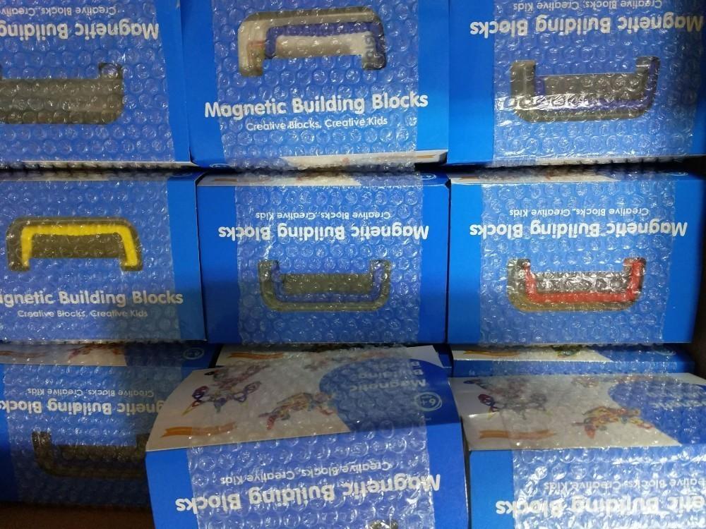 Kids Magnetic Blocks Building Toys Educational Construction Magnet Tiles Children Gift