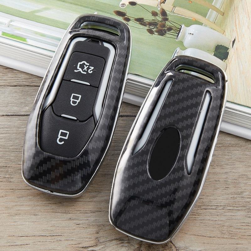 3 buttons Fernschlüssel Schlüssel Case SHELL Anhänger for Ford Mondeo Fiesta