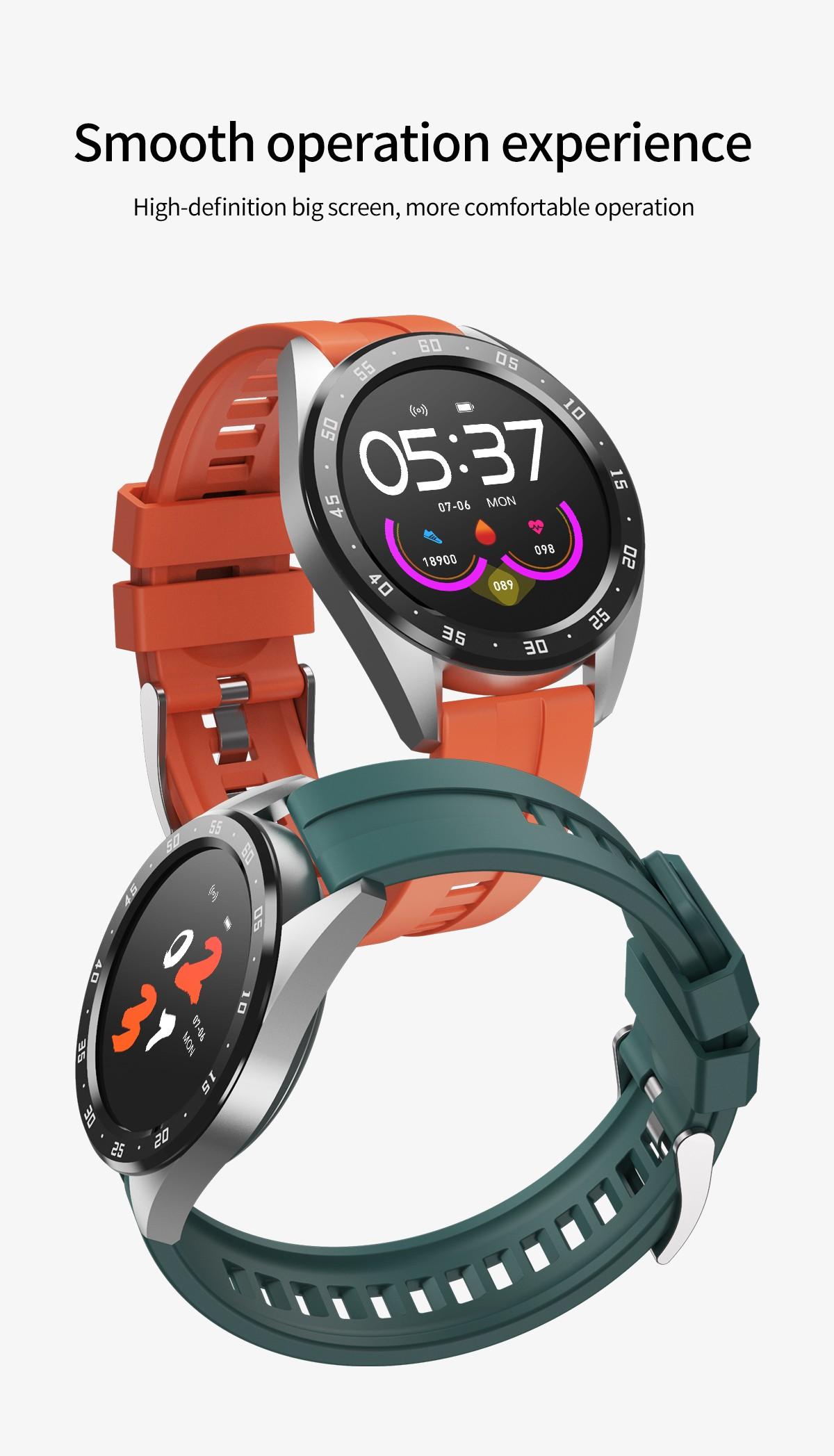 X10 Intelligent Sports Watch 1.3 inch Bluetooth Smartwatch