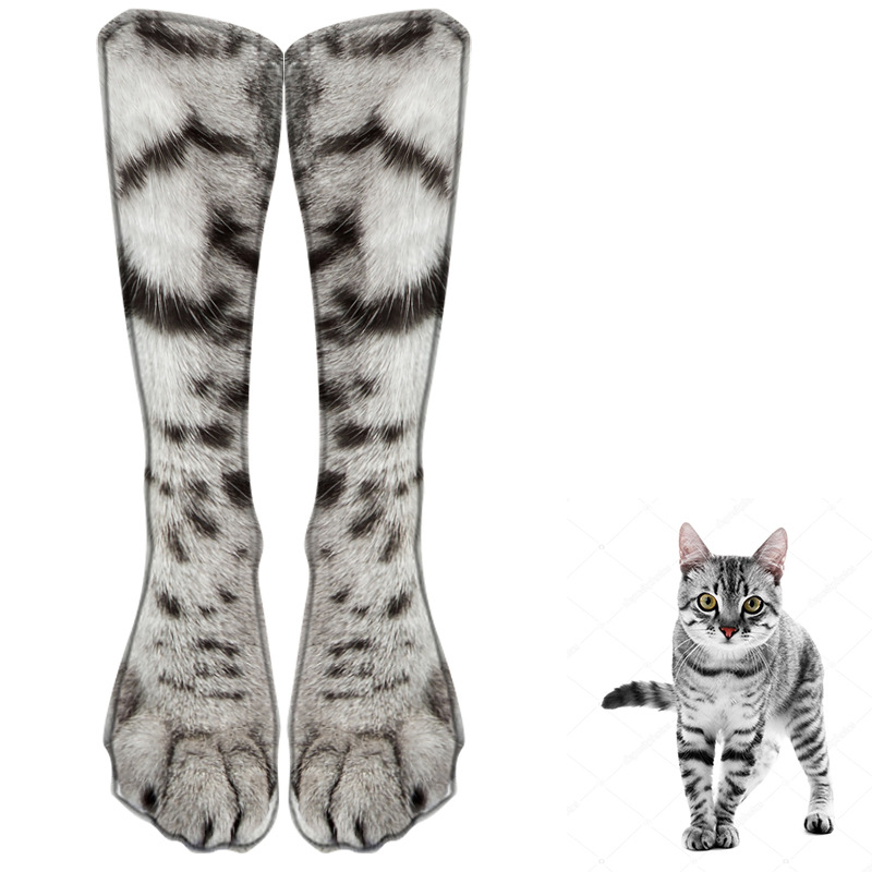 Unisex Picture Of Cute Cat Athletic Quarter Ankle Print Breathable Hiking Running Socks