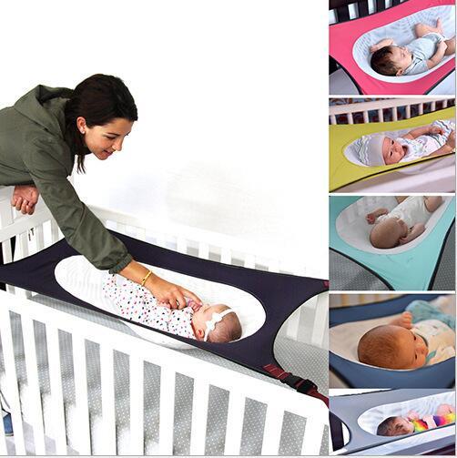 Tragbare Baby Krippe Kindergarten Reise faltende Säugling Wiege Schlafsack