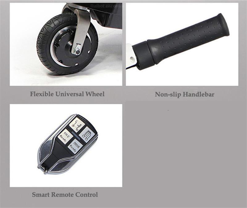 Disability Electric Scooter 3 Wheel Electric Scooter For Elderly Disabled Folding Electric Wheelchair (48)