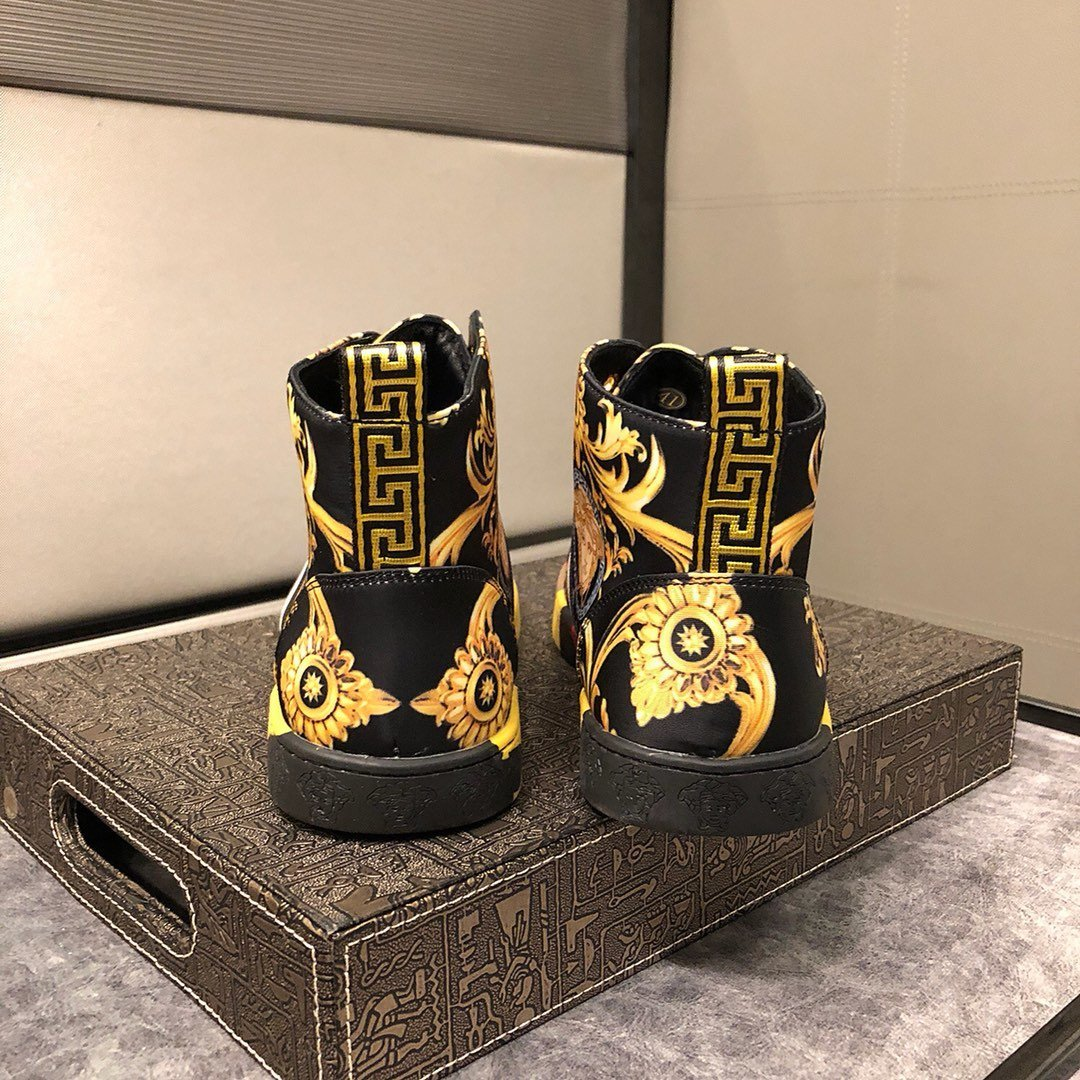 2019QN nouvelles chaussures de sport pour hommes occasionnels élevés aux chaussures de sport de voyage de camouflage aider les hommes de luxe de la boîte d'emballage d'origine livraison rapide