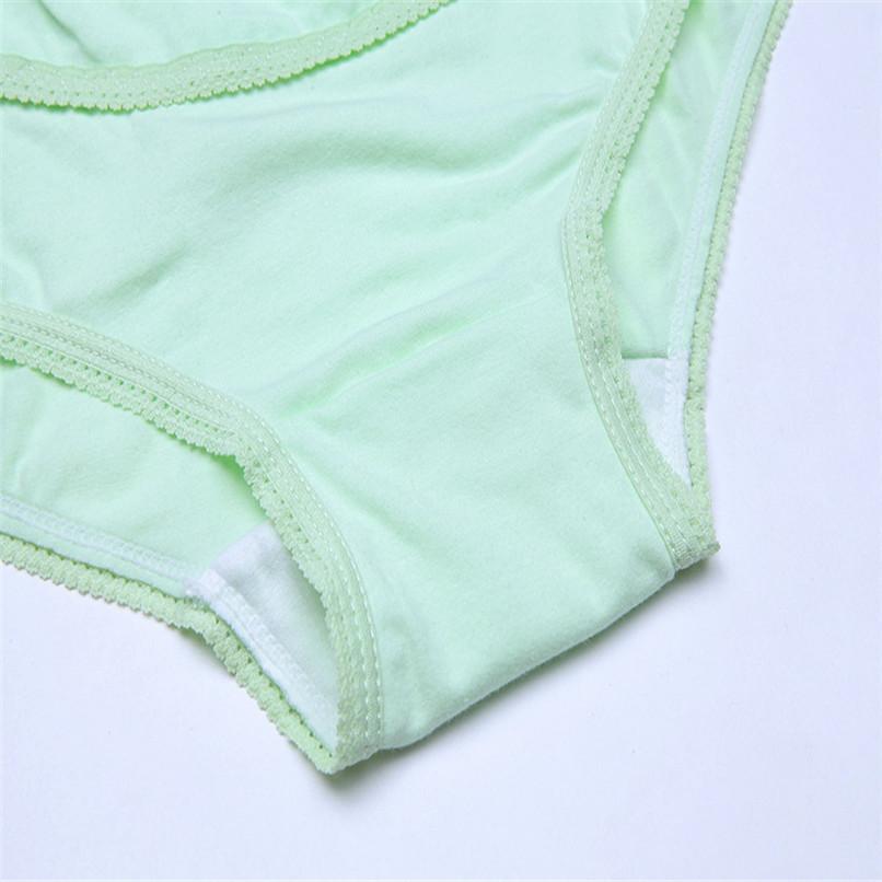 M-XXXL Pregnancy Maternity Clothes Cotton Women Pregnant Smile Printed High Waist Underwear Soft Care Underwear Clothes S14#F (19)