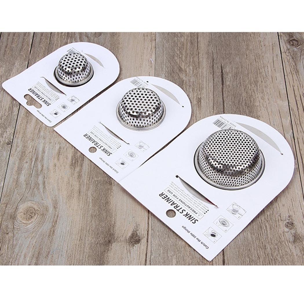 New Fashion Kitchen Stainless Steel Floor Drain Cover Waste Filter Hair Stopper Sink Strainer New Fashion Home & Garden