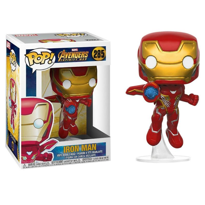 Funko Pop Vingadores 3 Homem De Ferro Capitão América Black Widow Soldado Inverno Modelo Figura Coleção Modelo Toy Presentes Para Crianças Y19051804