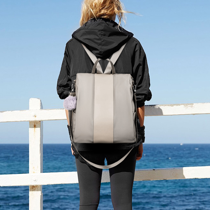 Litthing Katı Kadın Sırt Çantası Anti-Hırsızlık Genç Kızlar Için Okul Çantaları Genç Sırt Çantası Kitap Backbag Seyahat Daypacks Omuz Çantası Y19051405