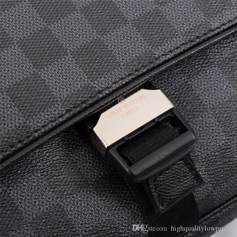 2019 meilleure lettre noire en cuir véritable femmes message sac à main pochette Metis sacs à bandoulière bandoulière Rétro sacs livraison gratuite M40010