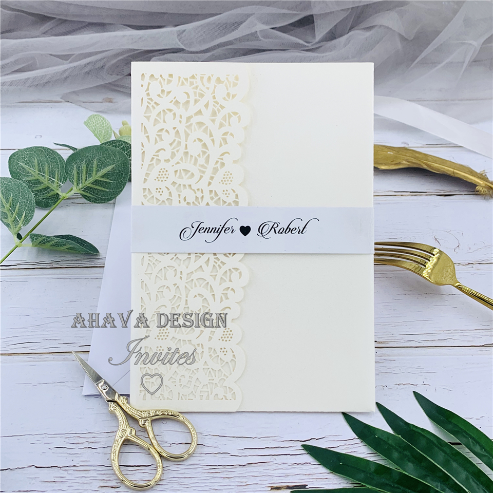 Wholesale Ivory Laser Cut Wedding Invitations - Buy Cheap in Bulk from  China Suppliers with Coupon | DHgate.com