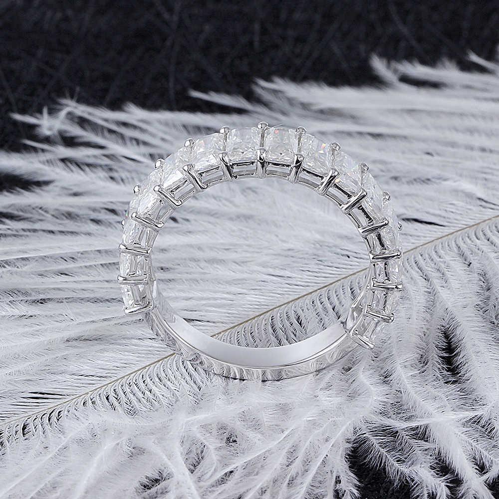 moissanite wedding band- radient cut (5)