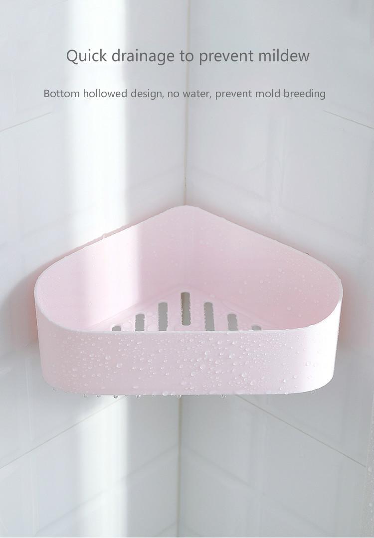 2019 Bathroom Shelf 2019 For Kitchen Shower Corner Shelf Storage Holder Wall Mounted Type Corner Tooth Stand From Supper007 6 97 Dhgate Com
