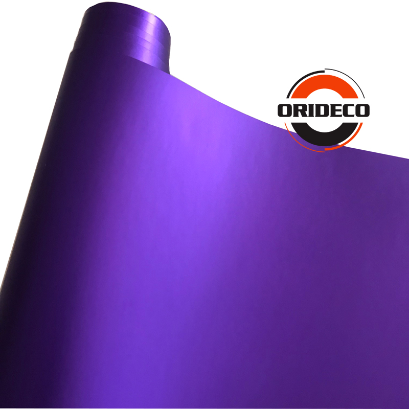 Purple matte metallic satin purple vinyl wraps 8