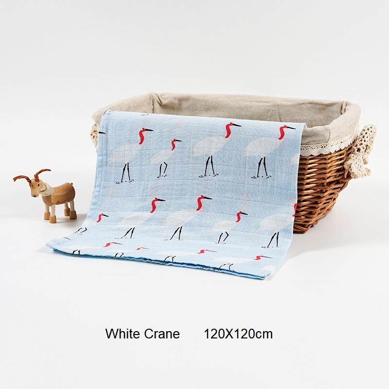 2 Layers White Crane