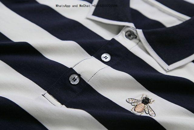 Новый модный тренд поло блузки с коротким рукавом футболки с лацканами футболки из чистого хлопка Slim Motion Tide