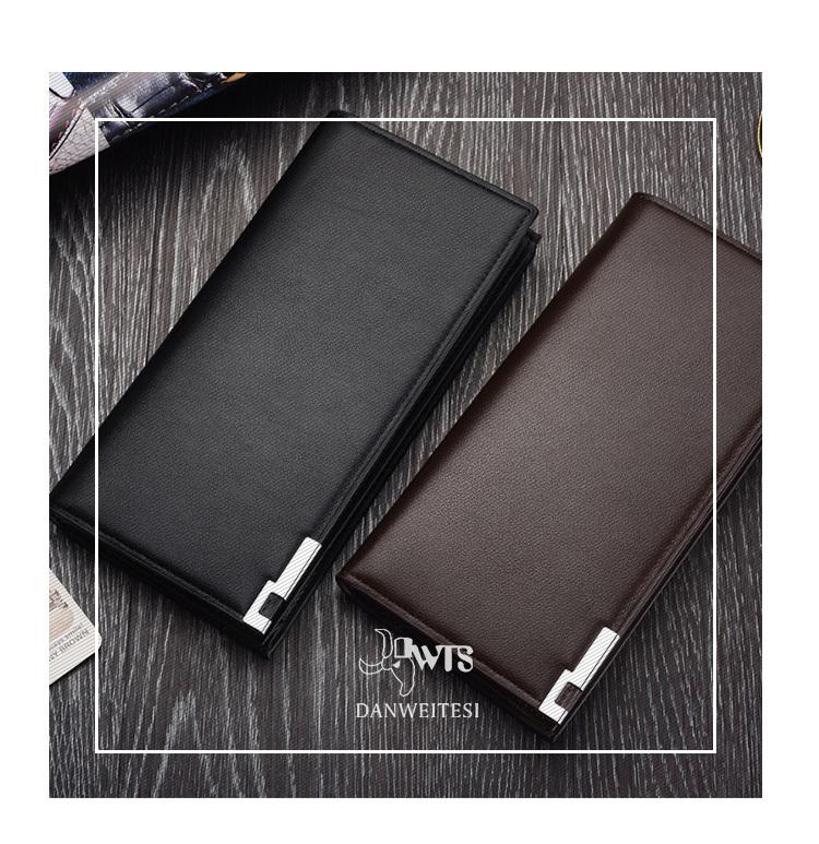 men wallet genuine leather