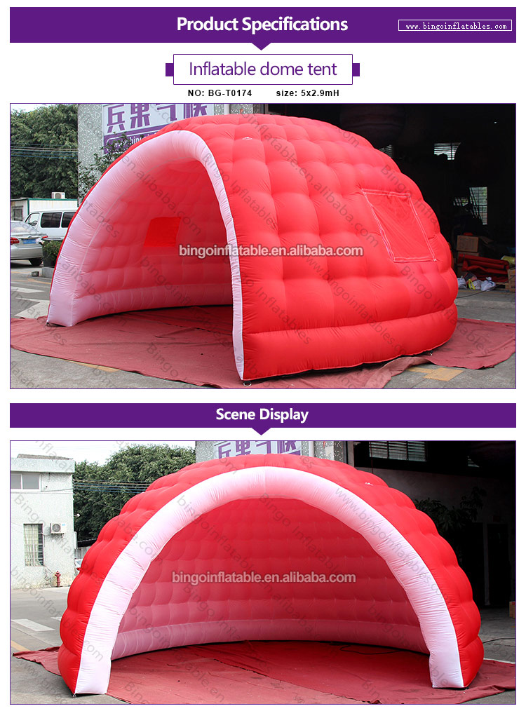 BG-T0174-Inflatable dome tent_1