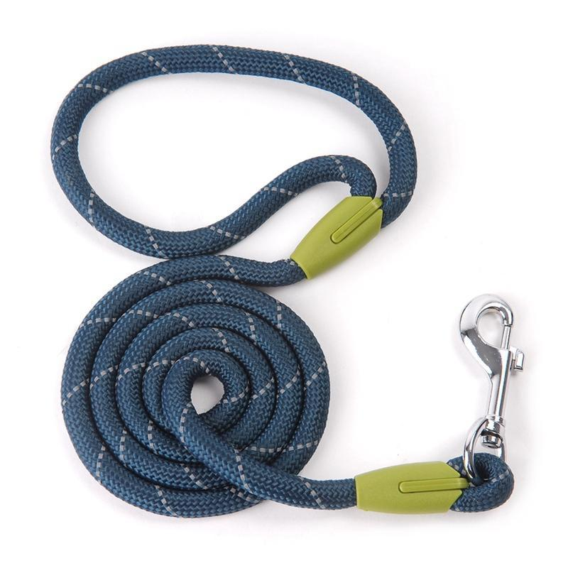 Dog Leashes For Small Large Dogs Leash Pet Products Reflective Dog-Leash Rope Dogs Lead Cat Collar Harness Nylon Running Leashes (7)