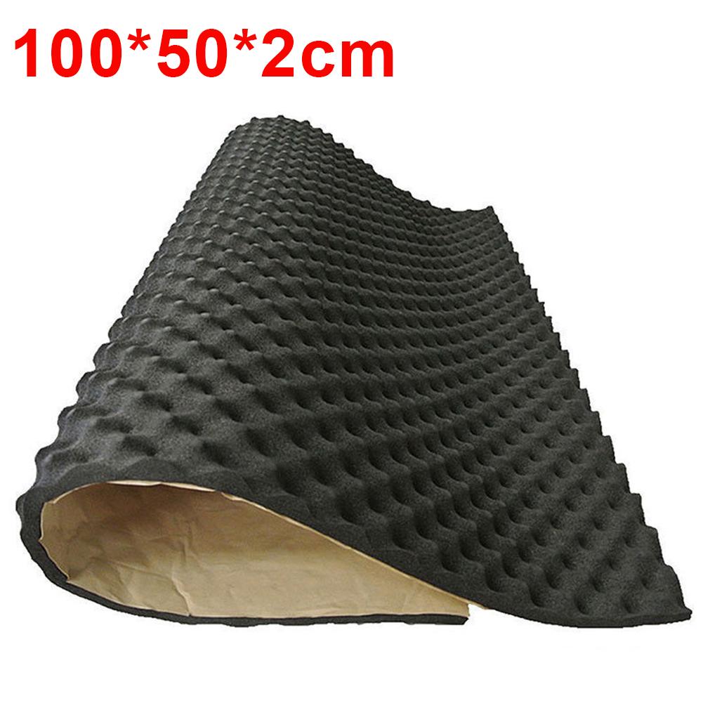 100x40CM Fonoassorbente Per Schiuma Antirumore Con Isolamento Acustico Per Auto