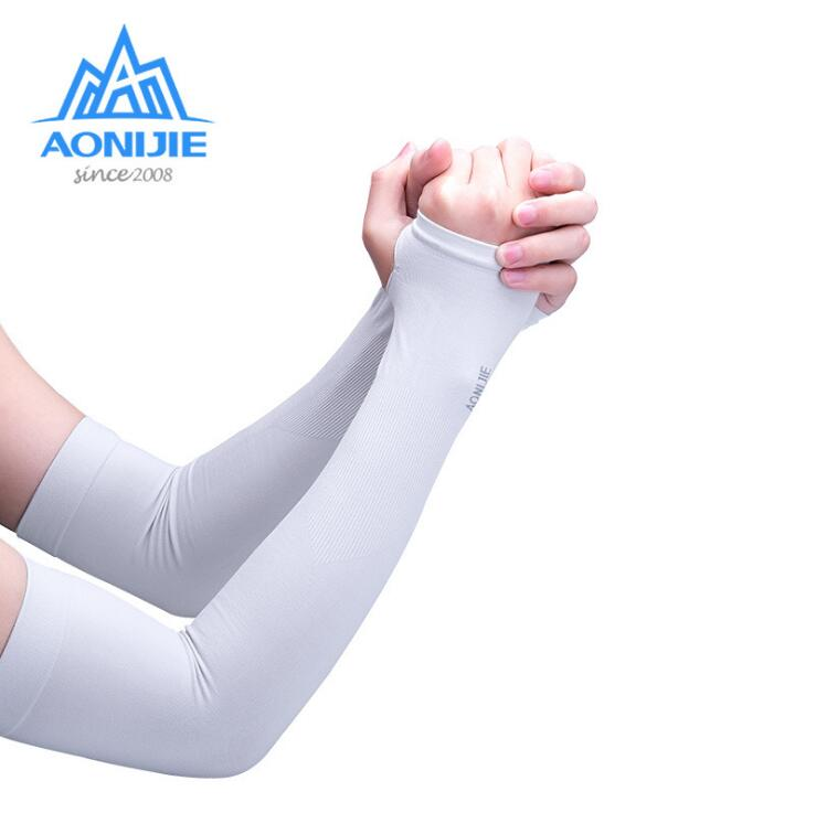 Arm Sleeves Beauty Animated Penguin Mens Sun UV Protection Sleeves Arm Warmers Cool Long Set Covers White
