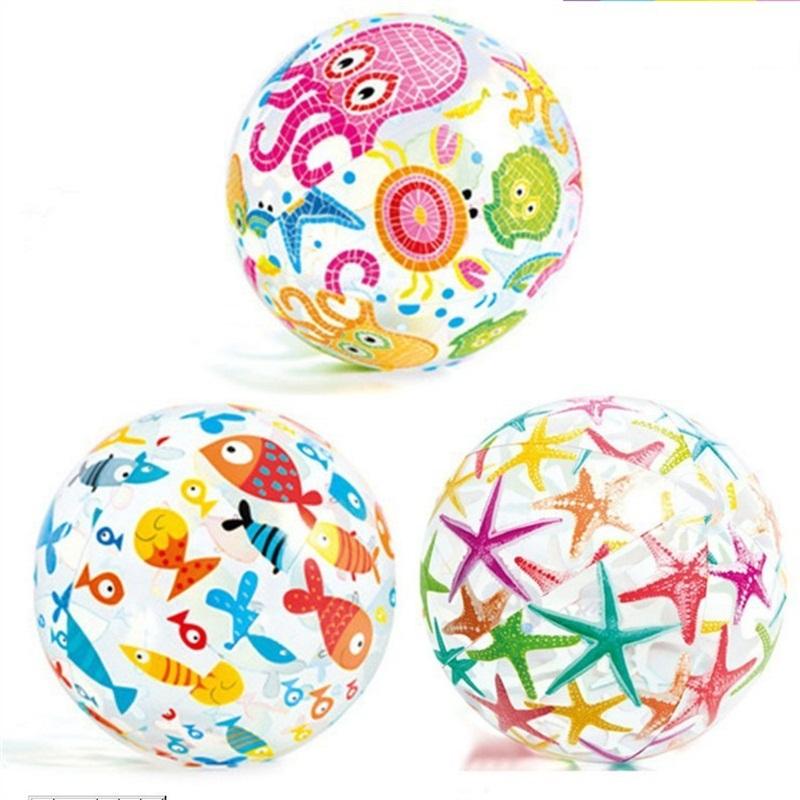 Pelotas de Playa con Forma de Bolas de Playa con Forma de Bolas de Playa de Confeti de 4 Piezas Bolas de Playa de Lentejuelas 16 y 24 Pulgadas