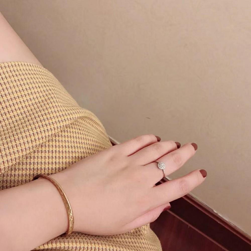 Designer Luxury Accessories Alloy Dio Argento a doppio strato Tie Arrow aperto bracciali le donne gioielli braccialetto