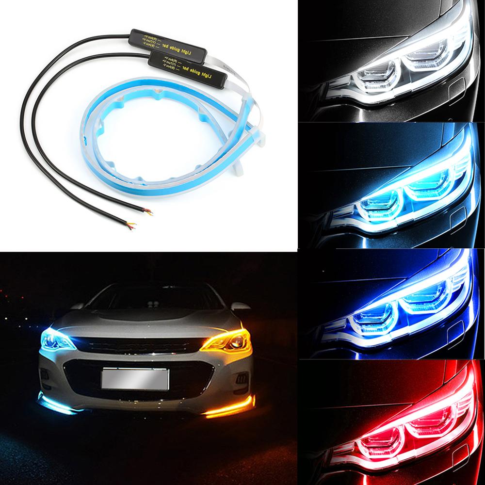 Eagle eye LED DRL Luces Diurna Luces aclaramiento luces para todos los vehículo 12v X 2