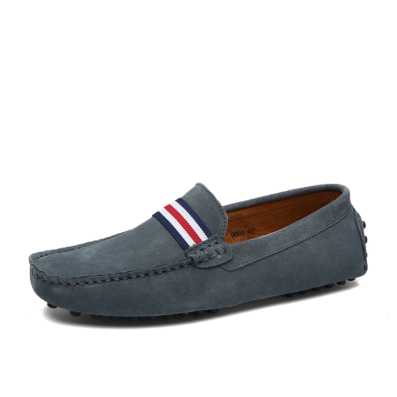Dikeins Wholesale Slip On Mens Casual Fashion Black Formal Leather Loafers Men's Dress Shoes