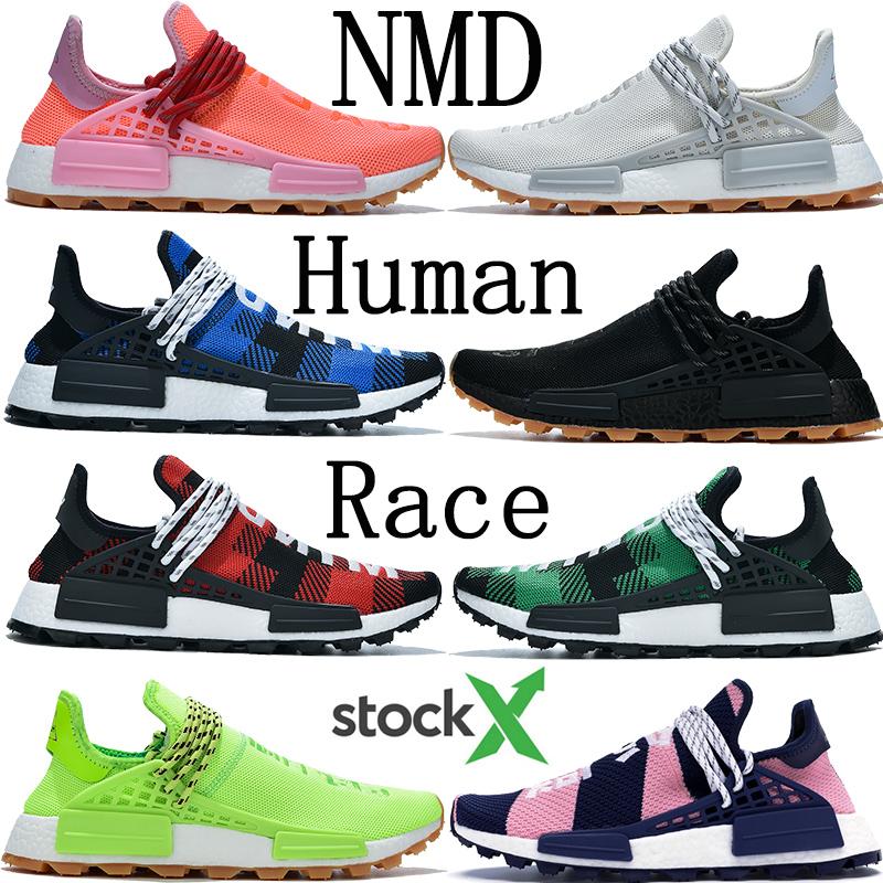 BBC NMD Human Race chaussures de marque Pharrell Williams souffle des espèces infinies mais savoir l'âme jaune solaire pack HU NERD hommes chaussures