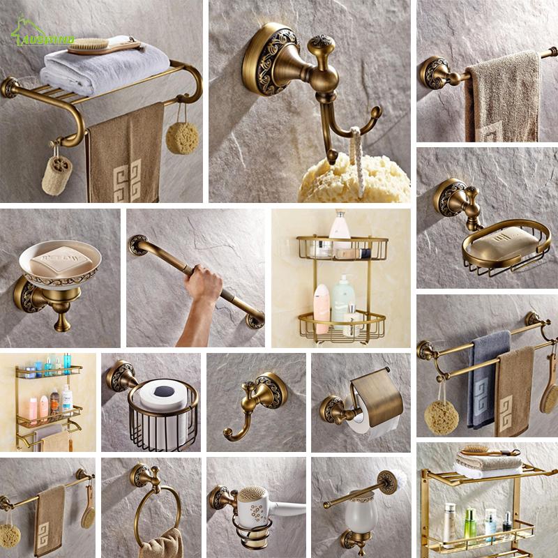 Grosshandel Antike Massivem Messing Wc Burstenhalter Ti Pvd Geschnitzte Europaische Zubehor Wand Badezimmer Produkte Von Sd888s 30 56 Auf