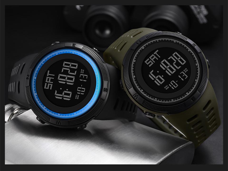 Sports Watch Men Digital Electronic Wrist Watch Waterproof LED Fitness Outdoor Watch For Running Chronograph Wristwatch Relojes (10)