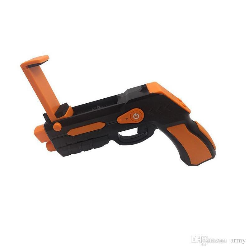 Portable Virtual Ar Game Gun Bluetooth Ar Toys Gun Ar Blaster For Iphone Android Smart Phone